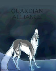 GUARDIAN ALLIANCE comic cover by RiverWolfCreations