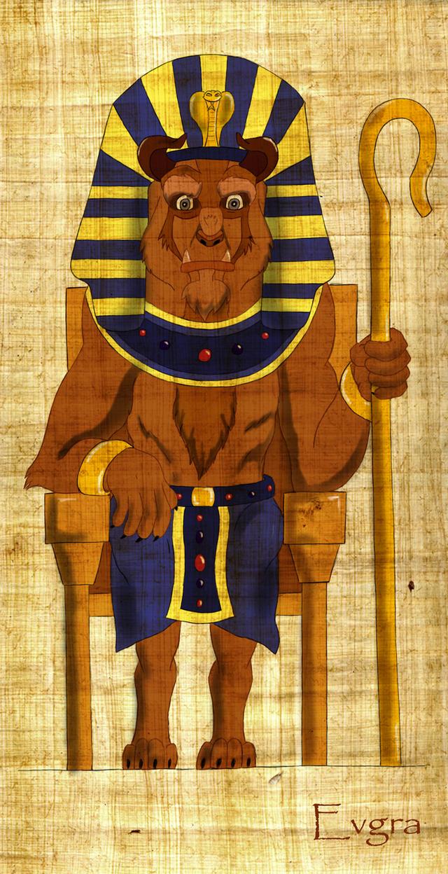The Pharaoh by Evgra