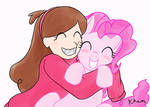 Mabel Pines and Pinkie Pie