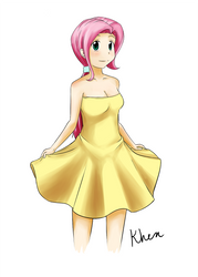 Shy In A Dress by kprovido