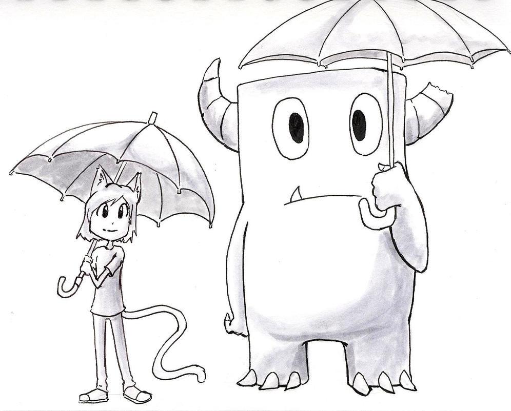 Oct 25 Monster Friend totoro by kprovido
