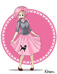 What should shy wear: POODLE SKIRT