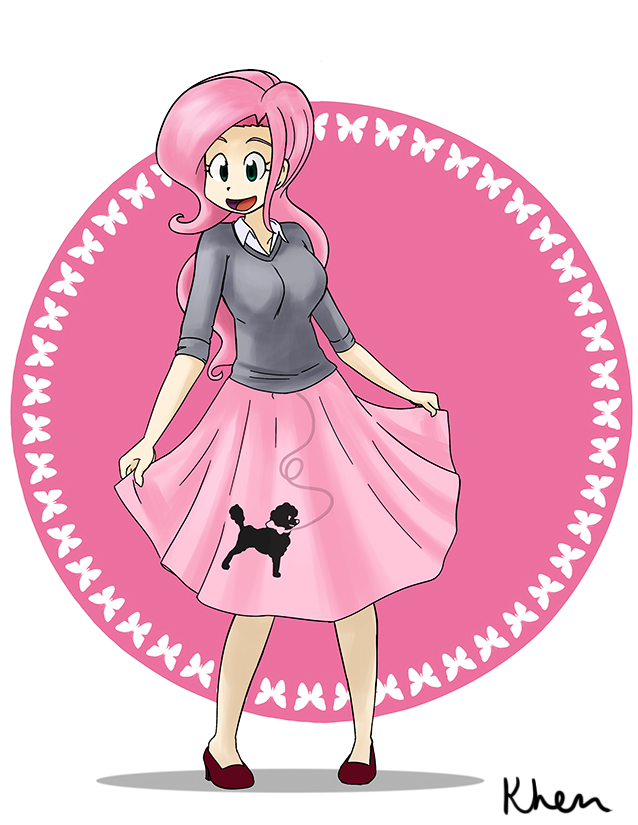 what should shy wear poodle skirt by kprovido on deviantart rh kprovido deviantart com poodle skirt clip art images