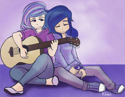 Luna and Tia music by kprovido