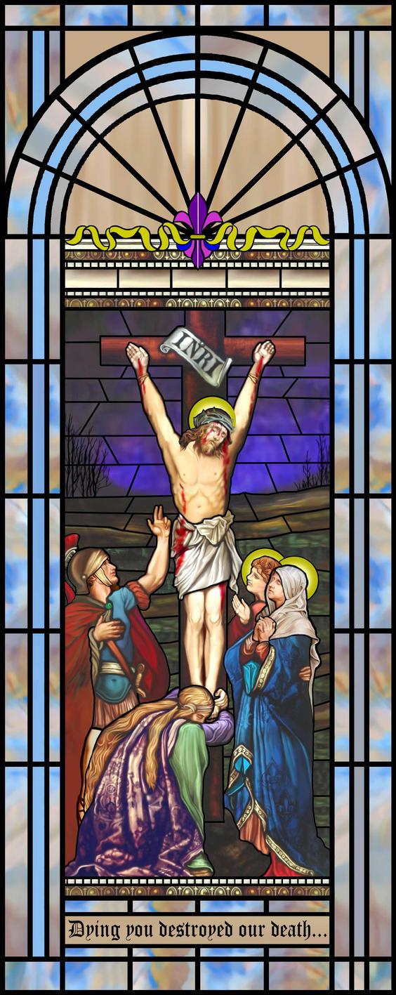Crucifiction by artmovementspgh