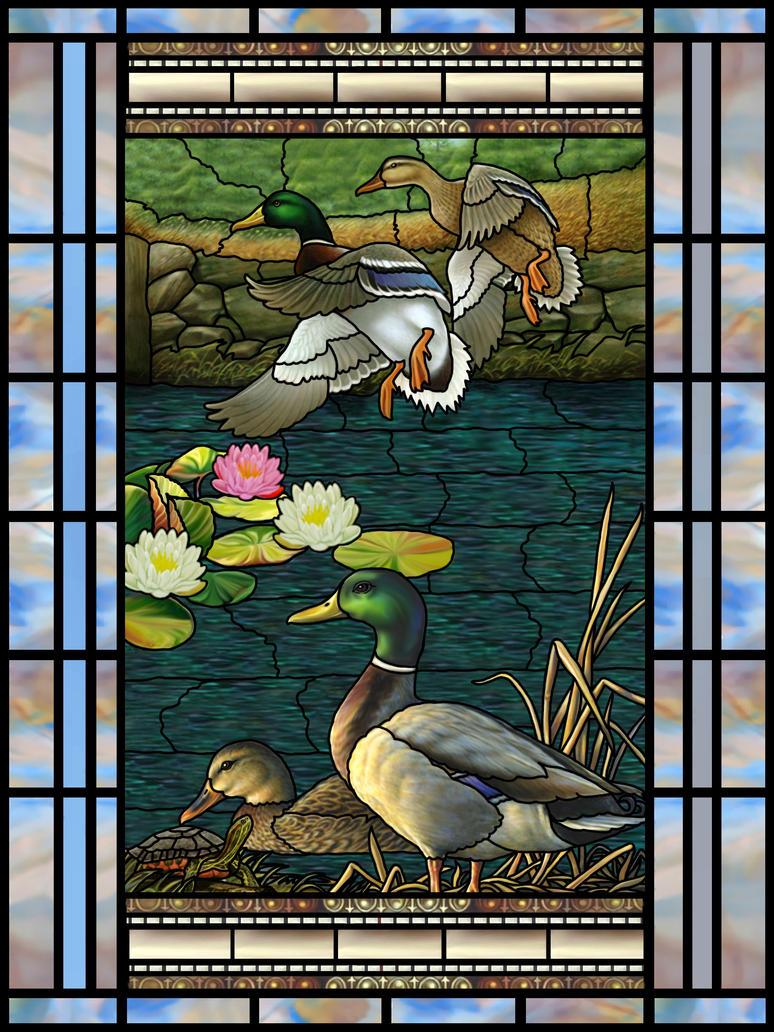 Ducks 1 by artmovementspgh