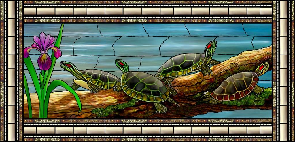 Turtles by artmovementspgh