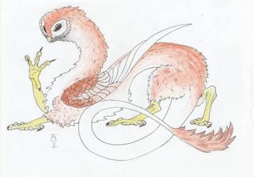 Dragon-owl.Youkai. by ProfBreeze