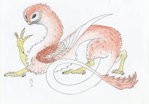 Dragon-owl.Youkai.