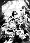 Ilustraciones para novela by ELZUCO