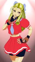 Karin Street Fighter by dragonwarrior12003