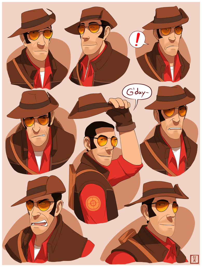 TF2 - RED Snipah by Operative-Nova-Eagle