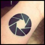 My new aperture tattoo