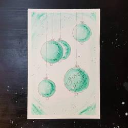 Julekort - Christmas Card  by Albiona