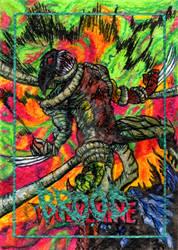 Mark Bartle Sketch Card Wolverine Brood 72dpi