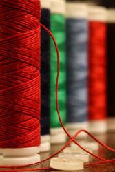 The red thread V by AlejandroCastillo