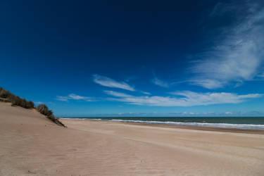 Only beach...