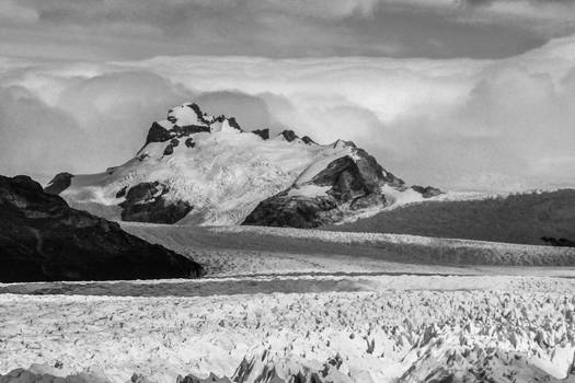 Patagonian ice XII  (in BW)