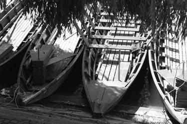 Boats by Lavareille