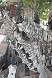 Dragonhead by Lavareille