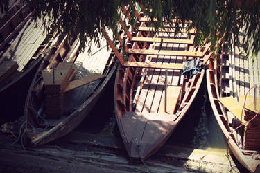 Boats - 2 by Lavareille
