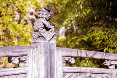 Statue by Lavareille