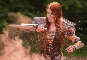 Aela the Huntress by Lavareille