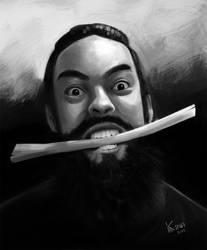Male Portrait by MarceloKina