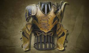 Valuriel's armor by Chant-des-Louves