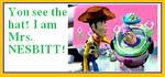 Buzz is Mrs. Nesbitt stamp by TriforceBoy