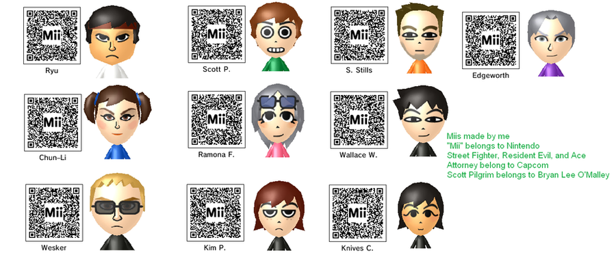 Anime Mii Characters 3ds : My ds miis by triforceboy on deviantart