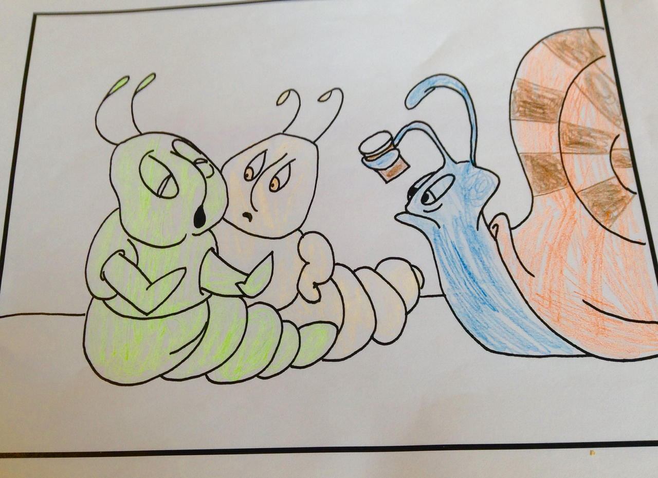 Hermie A Common Caterpillar Coloring Page 4 By Katwatkins On Deviantart