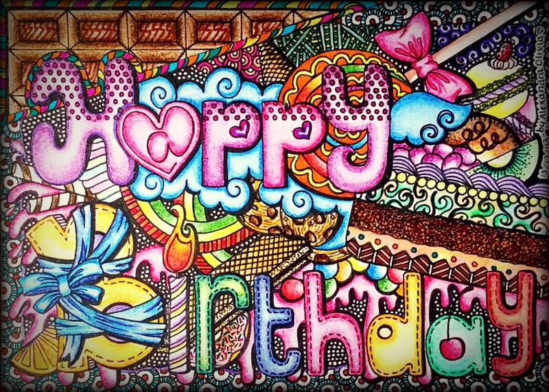 Art Tara Birthday Cake