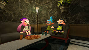 3 Inklings hanging out
