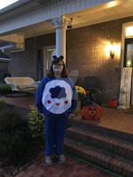 Me in my Grumpy Bear Costume