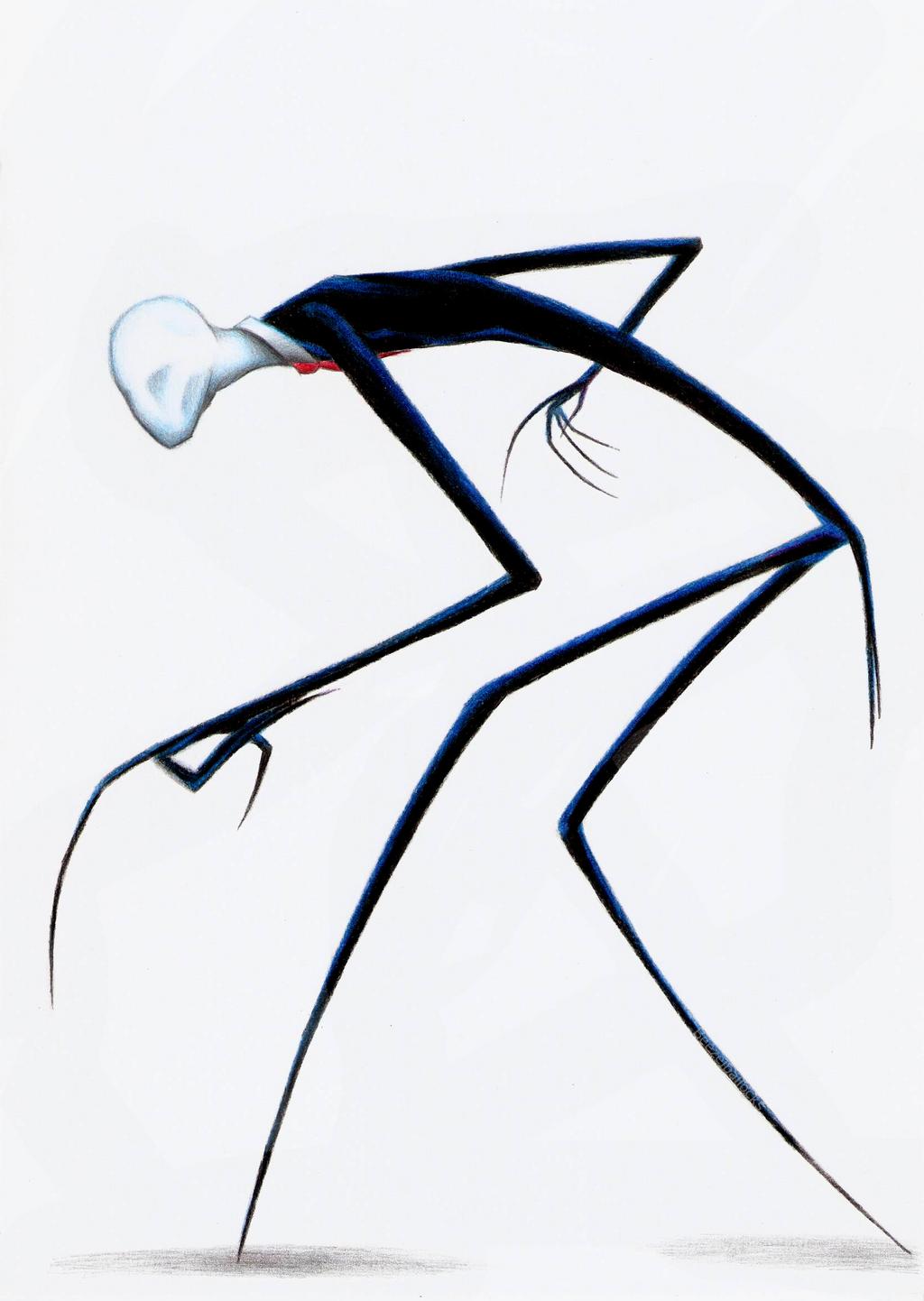 The Slender Man by Beezelballocks