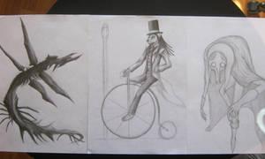 Those Raffle Sketches