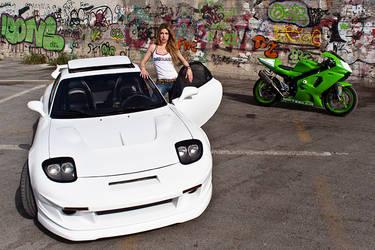 ZR, RX7 and Marilena by Svelon