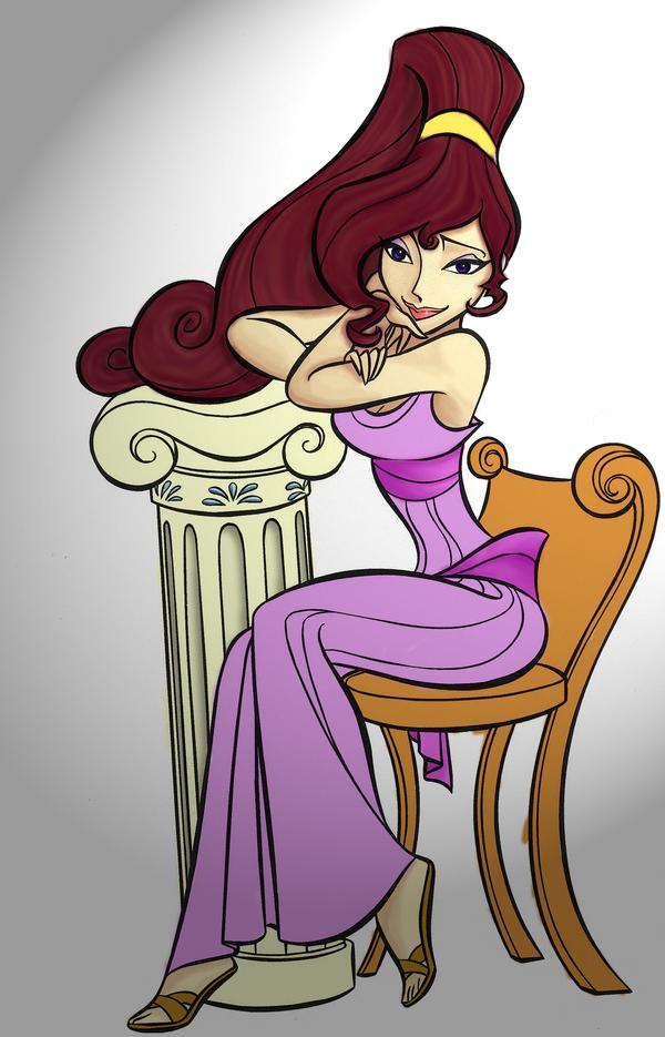 How To Draw Princess Megara