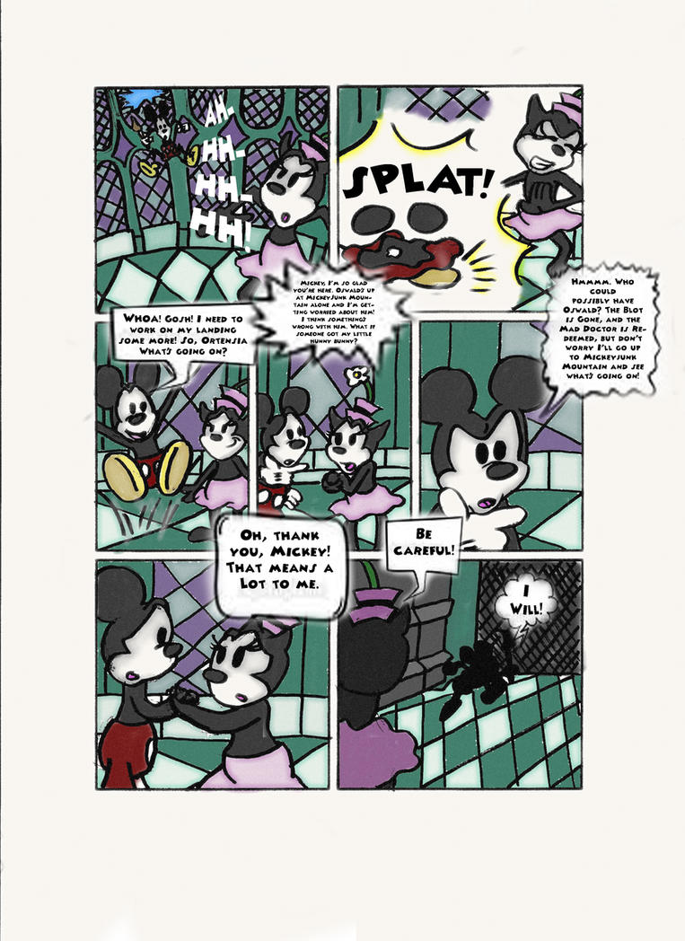 Epic Mickey 3 Prologue pg3 by Animator7
