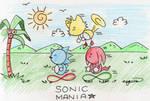 SONIC MANIA by esbelle