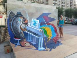 Music of Street Art by maksiov