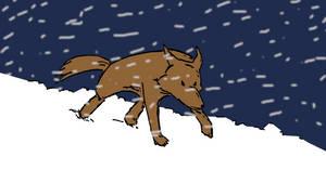 Into The Snow by ulaulaman