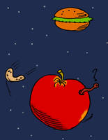Hamburger Solar System by ulaulaman