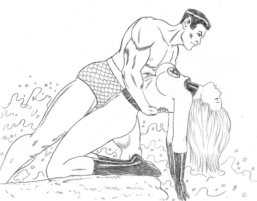 Namor and Sue commission