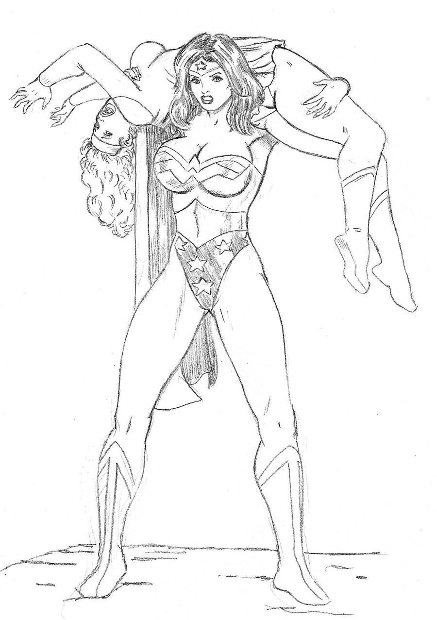 Wonder Woman vs Supergirl