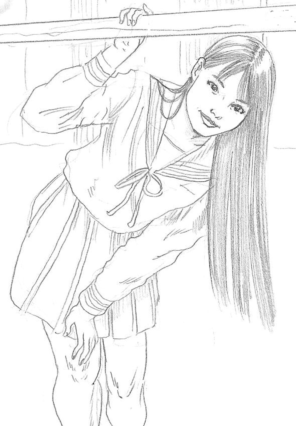 Sketch of random Pinterest image