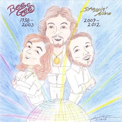 Music Colab - Bee Gees by jijikit