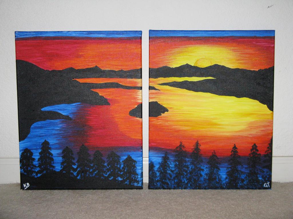 Emerald Bay Sunrise by jijikit