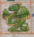 Dragon Birthstone SAL - August/Peridot